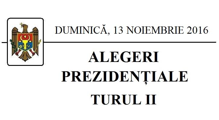 TURUL II Al ALEGERILOR PREZIDENȚIALE