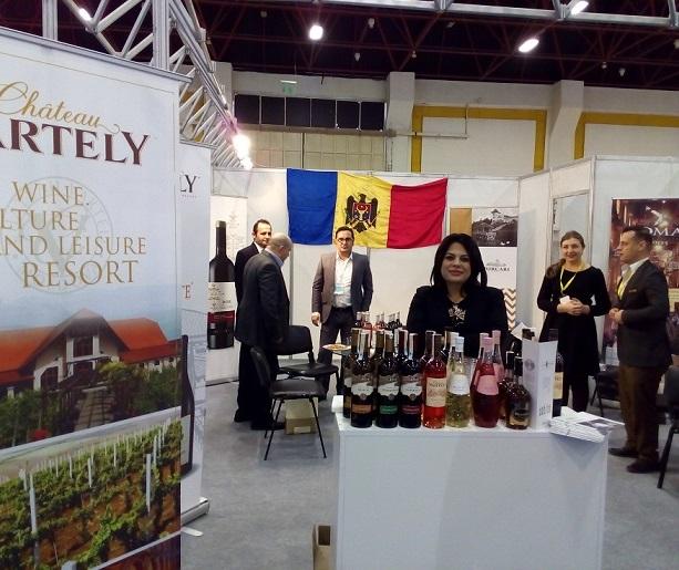 """Vinurile moldovenești la Expoziția internațională """"ANFAȘ-2017"""" din Turcia"""